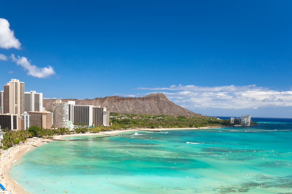 The beachfront neighbourhood of Waikiki is paradise for both foodies and those looking to shop until they drop.
